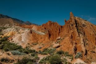1_0392 Kirgistan - Fairy Tale Canyon