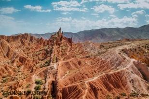 1_0399 Kirgistan - Fairy Tale Canyon